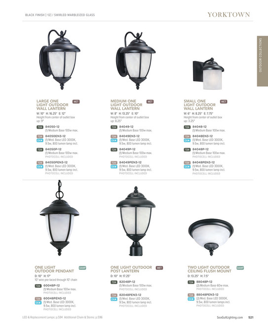 Sea Gull Lighting Home Solutions 2018 Full Line Catalog