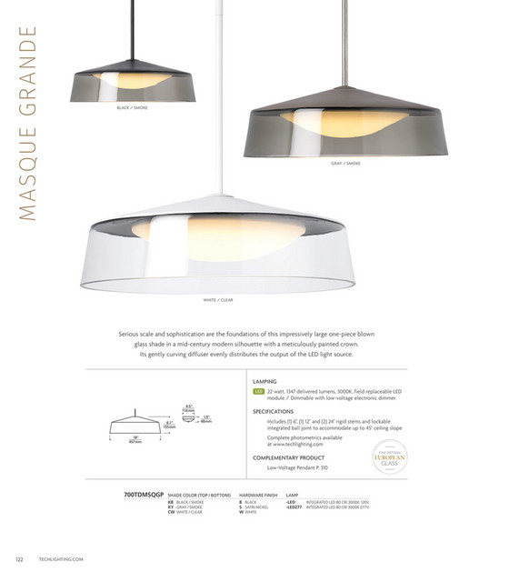 Tech Lighting 2018 Full Line Catalog