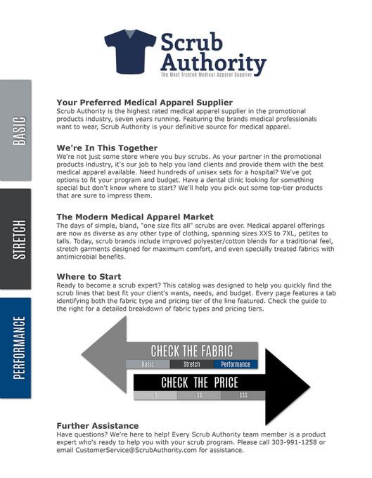 Scrub Authority - Scrub Authority 2019 Catalog - Page 1