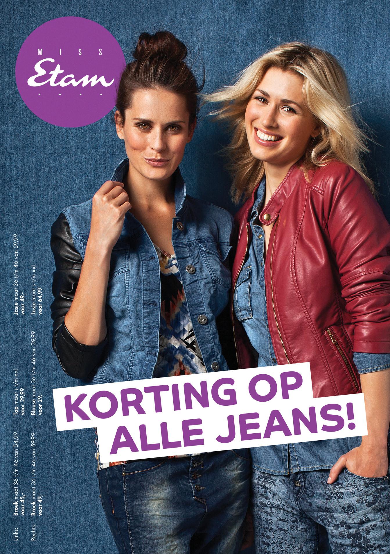 Miss Etam - Miss Etam Jeans - Pagina 1