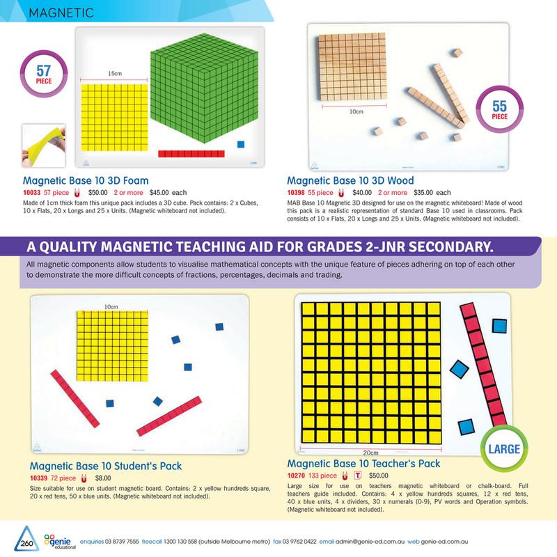 Magnetic MAB Symbols 20 piece Teacher Resource