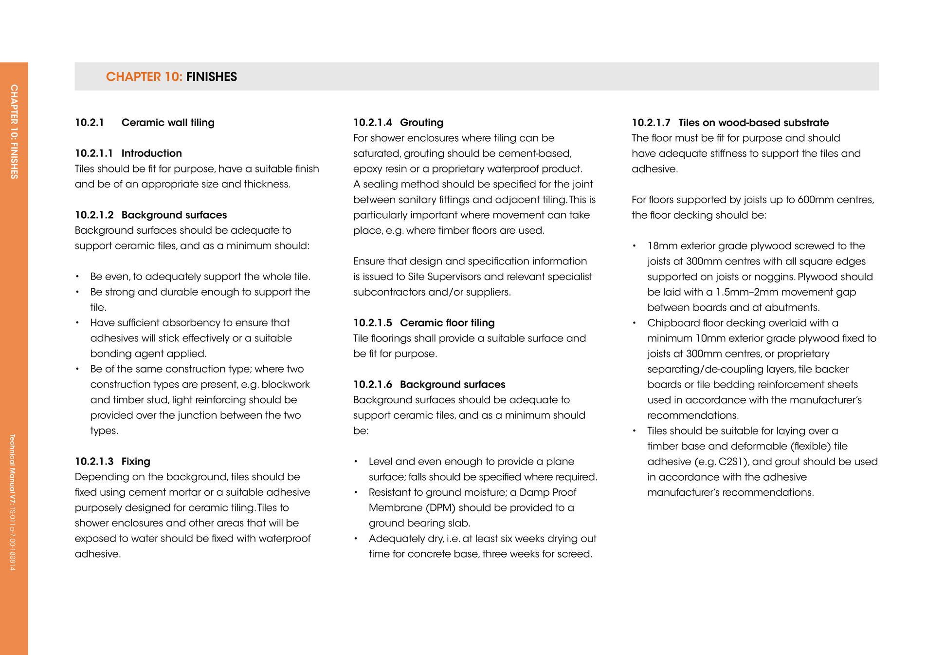 LABC Warranty Technical Manual Version 7 Page 294 295