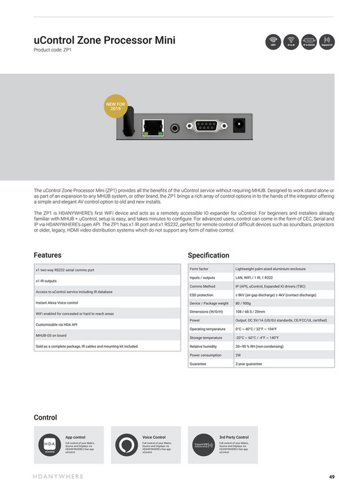 HD Connectivity - HDANYWHERE 2019 BROCHURE - Page 48-49 - Created