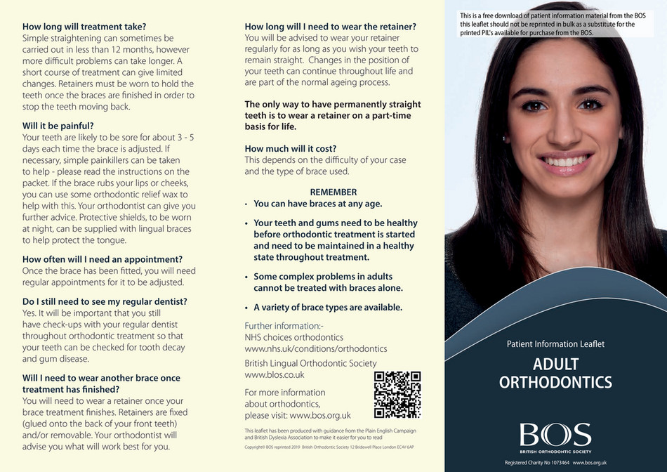 British Orthodontic Society - AdultMarch2019 - Page 1