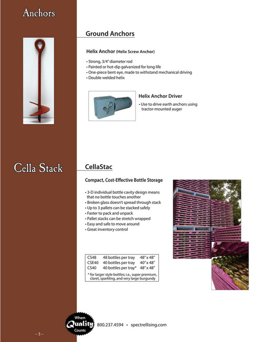Spec Trellising - 2016 Brewery & Hops Catalog - Page 4-5
