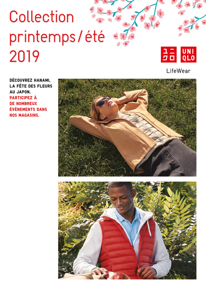 Folder Uniqlo du 01/04/2019 au 30/04/2019 - Promotions du mois