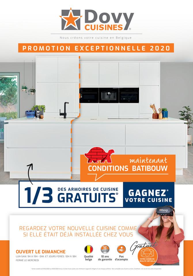 Folder Cuisines Dovy du 18/02/2020 au 31/03/2020 - Folder batibouw