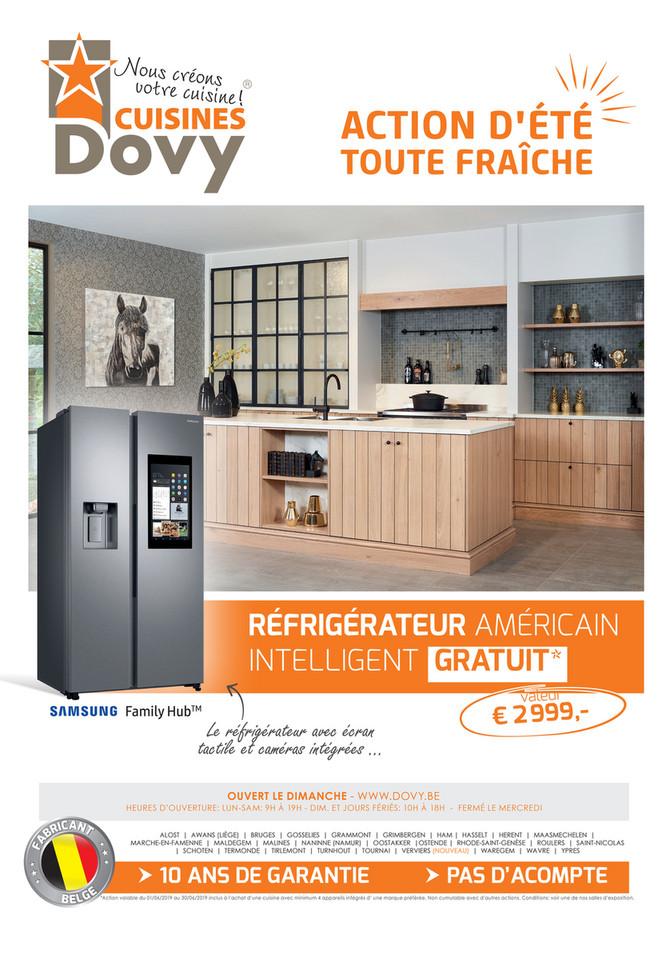 Folder Cuisines Dovy du 01/06/2019 au 30/06/2019 - Promotions du mois