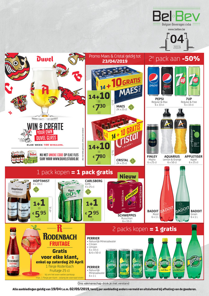 BelBev folder van 19/04/2019 tot 02/05/2019 - Weekpromoties 16