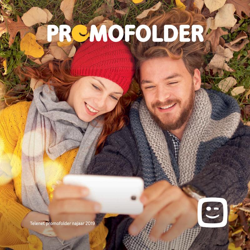 Telenet folder van 01/10/2019 tot 18/11/2019 - Promofolder