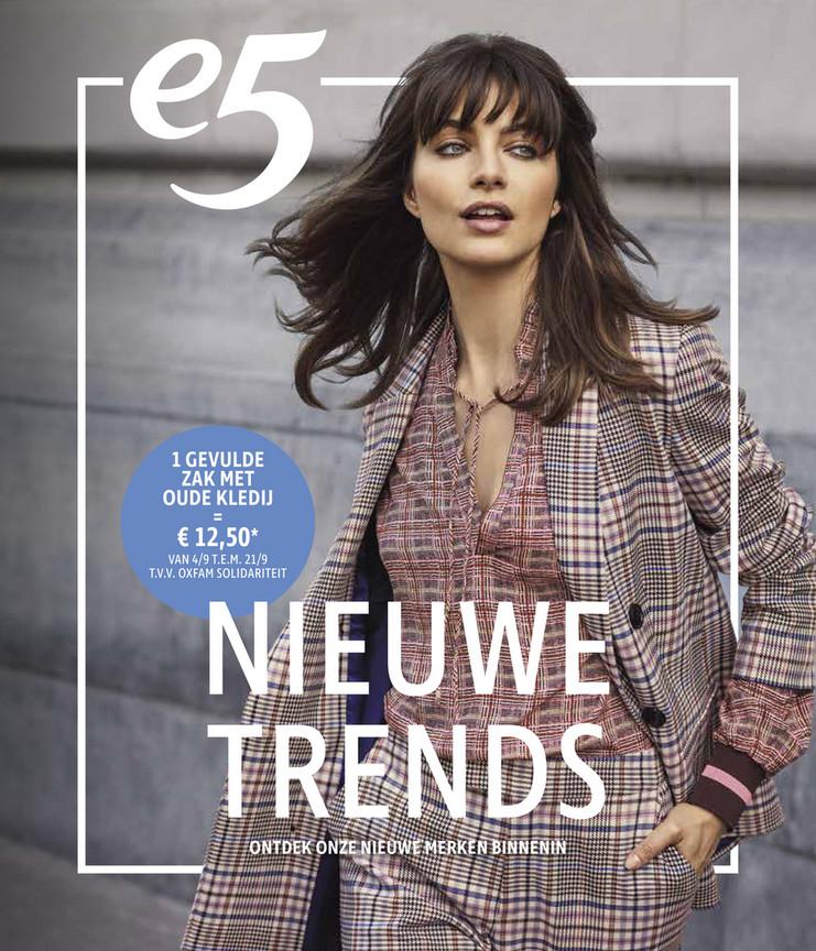 e5 Mode folder van 01/09/2019 tot 31/10/2019 - Nieuwe trends