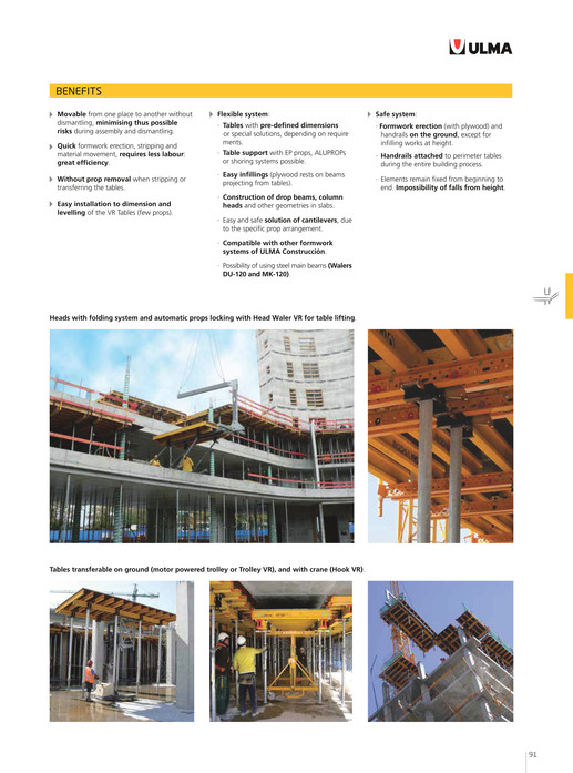 ULMA Construction - General Catalogue - Page 90-91 - Created with