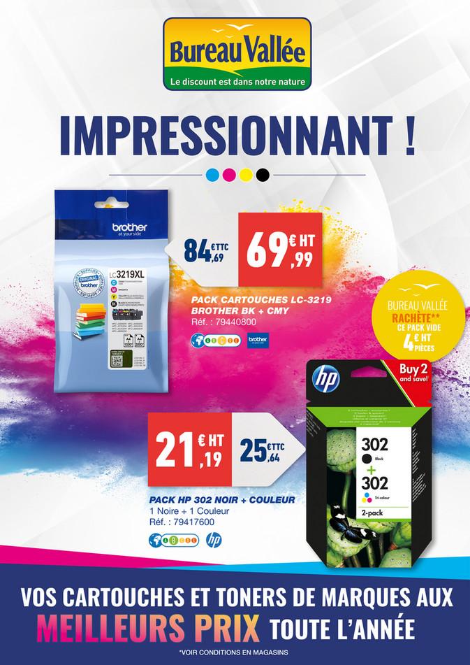 Folder Bureau Vallée du 07/10/2019 au 16/10/2019 - Promotions du mois