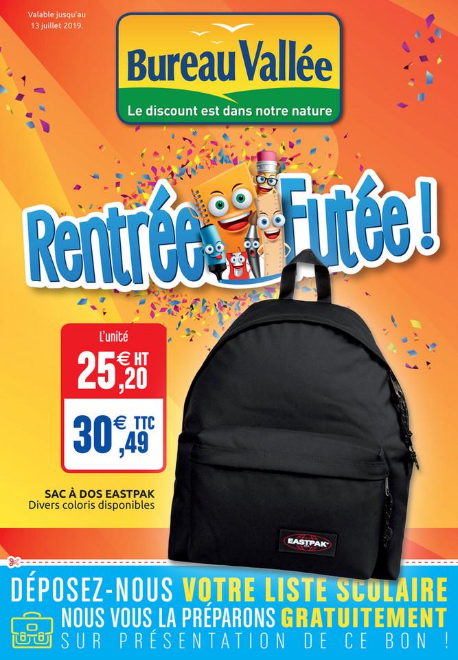 Folder Bureau Vallée du 01/07/2019 au 13/07/2019 - Promotions du mois