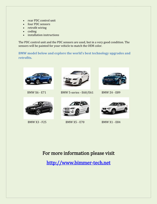 My publications - BMW Top View Camera - Page 4-5 - Created
