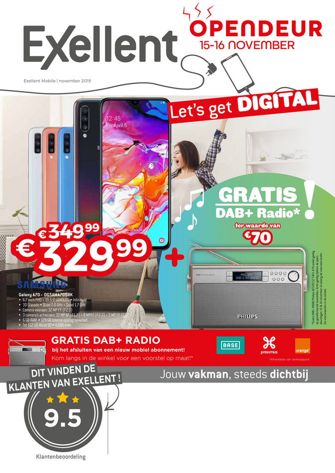 Exellent folder van 01/11/2019 tot 30/11/2019 - Mobile