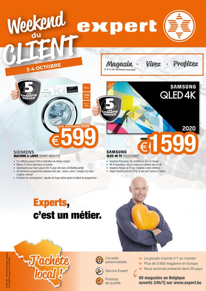 Folder Expert du 28/09/2020 au 31/10/2020 - Promotions du mois de octobre