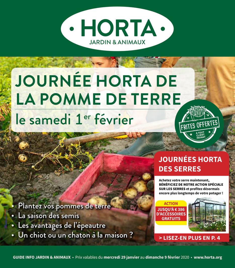 Le Jardin Potager En Janvier guide info horta jardin & animaux n°1 - page 1