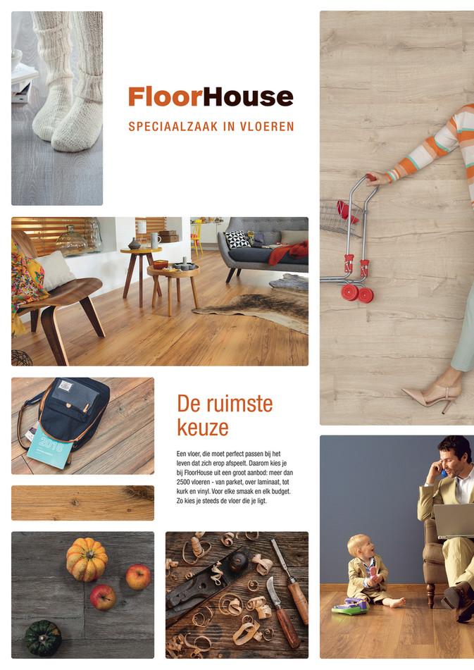 FloorHouse folder van 01/10/2020 tot 31/10/2020 - Maandpromoties oktober