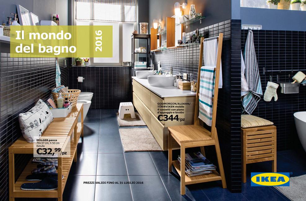 VolantinoFacile - Brochure Ikea Bagno fino a luglio 2016 - Pagina 1