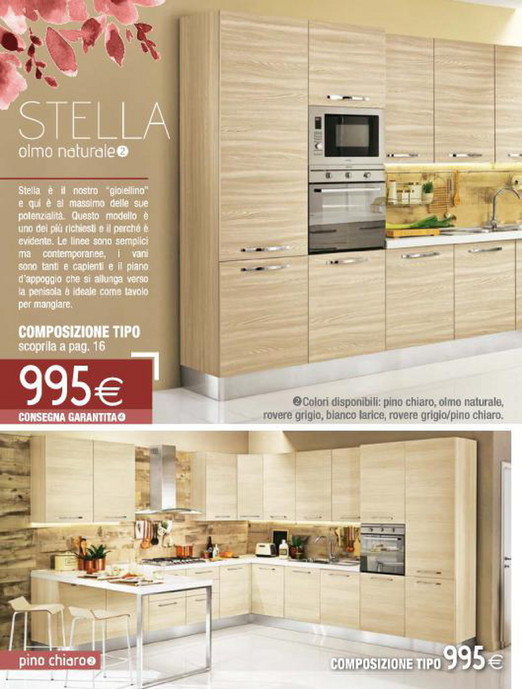 Awesome Mondo Convenienza Cucina Stella Images - Embercreative.us ...