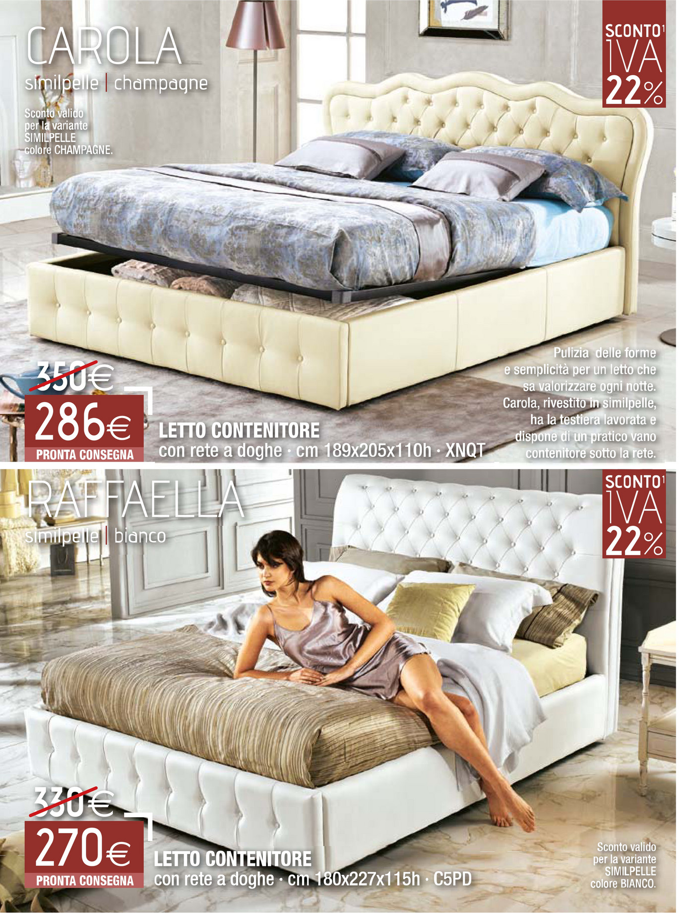 Letto carola mondo convenienza misure affordable camere a ponte mondo convenienza info with - Letto stone mondo convenienza ...