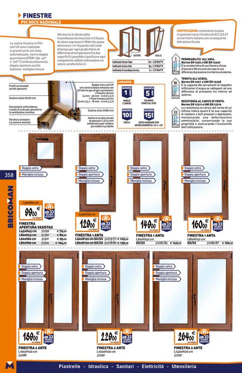 Montaggio finestre pvc bricoman il meglio di porte for Catalogo bricoman elmas