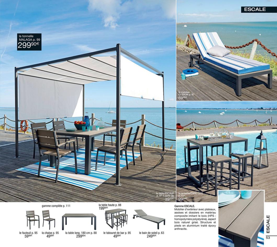 maison du monde bain de soleil stunning beau table de. Black Bedroom Furniture Sets. Home Design Ideas