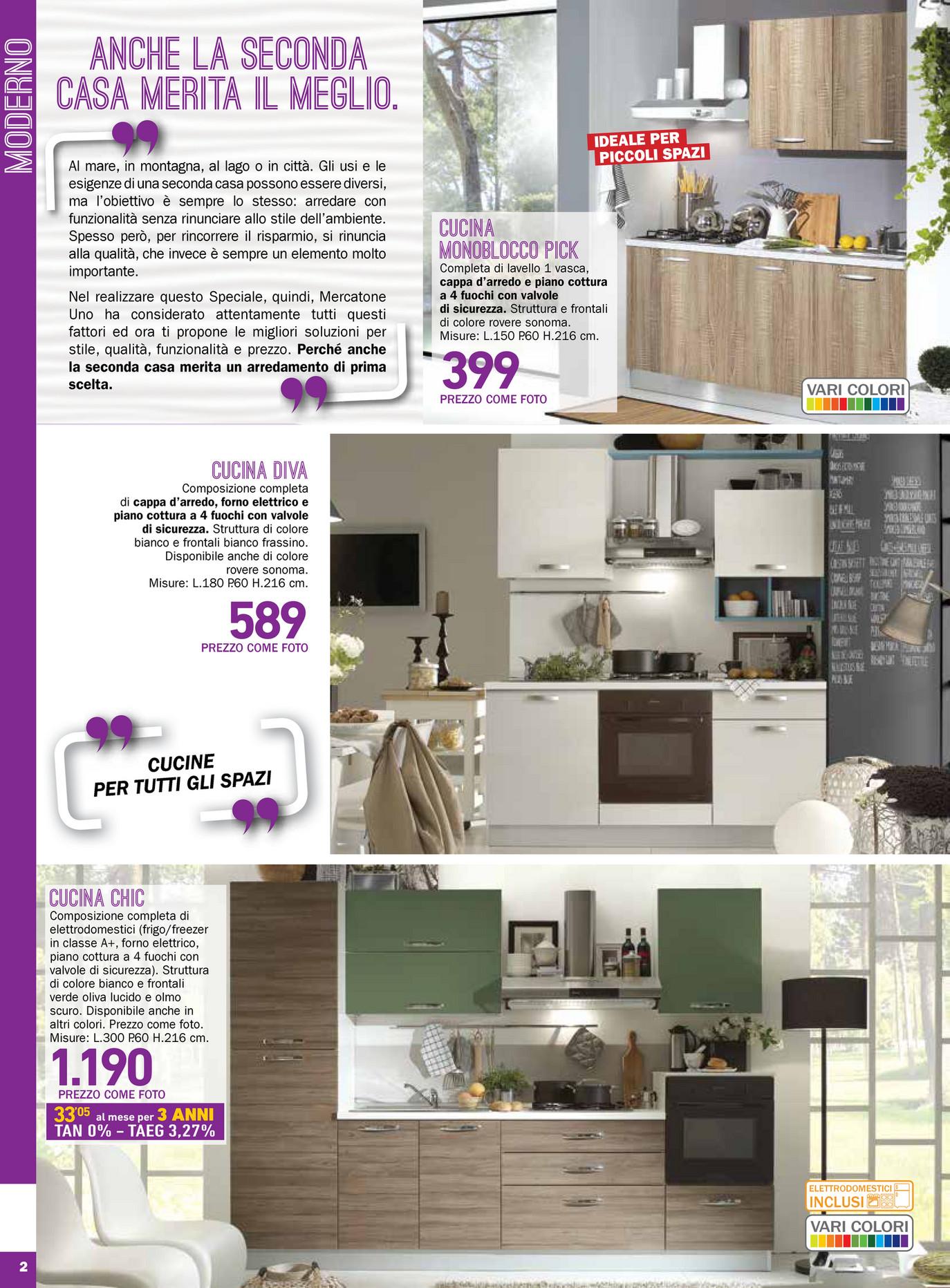 Emejing cucine al mercatone uno images ideas design - Cucine senza elettrodomestici ...