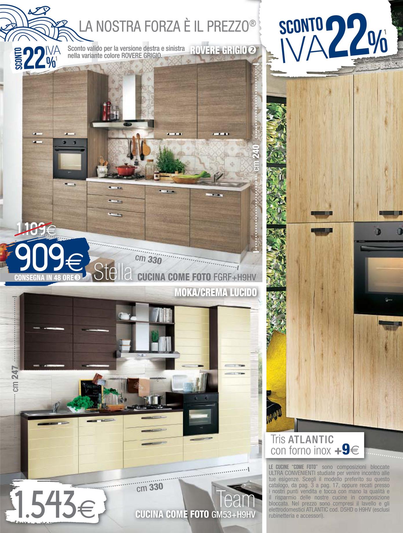 Awesome Cucine Mondo Convenienza Come Sono Pictures - Design & Ideas ...