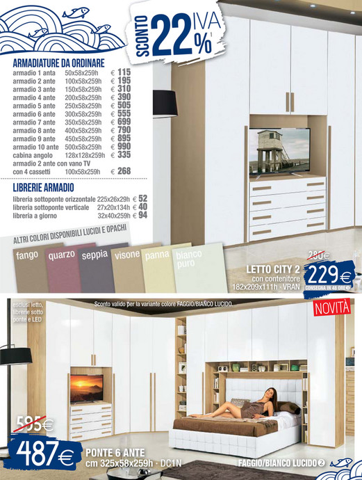 Iris Mobili Srl Mondo Convenienza.Libreria Ad Angolo Mondo Convenienza Perfect Disponibili In Beige E