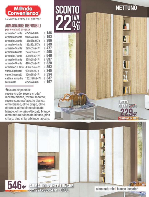 volantinofacile - catalogo mondo convenienza camere - pagina 28-29