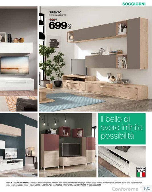 Emejing Conforama Catalogo Soggiorni Pictures - Design and Ideas ...