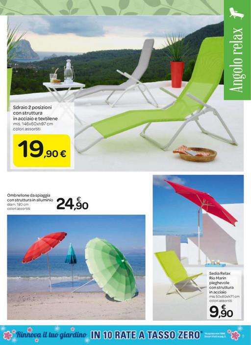 Sedie Spiaggia Pieghevoli Carrefour.Volantinofacile Catalogo Carrefour Giardino Iper Lombardia2