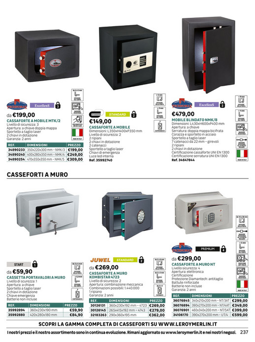 Volantinofacile Catalogo Leroy Merlin Prodotti Tecnici Dal 1