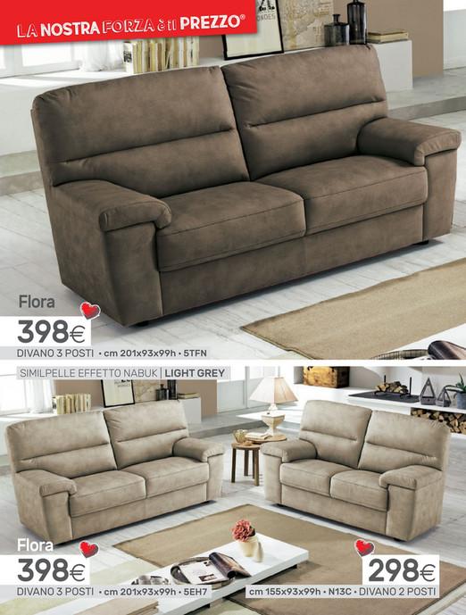 Divani mondo convenienza 3 posti best divano letto angolare similpelle tessuto marrone elephant - Divano dahlia mondo convenienza ...