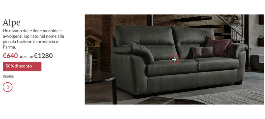 VolantinoFacile - Promozione poltrone sofa \