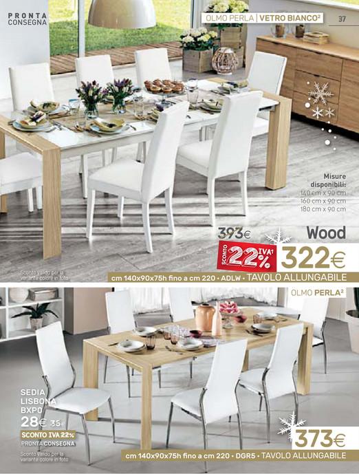 Tavolo Vetro Bianco Mondo Convenienza.Tavoli Mondo Convenienza Misure Top Tavolo Allungabile Wood Xq