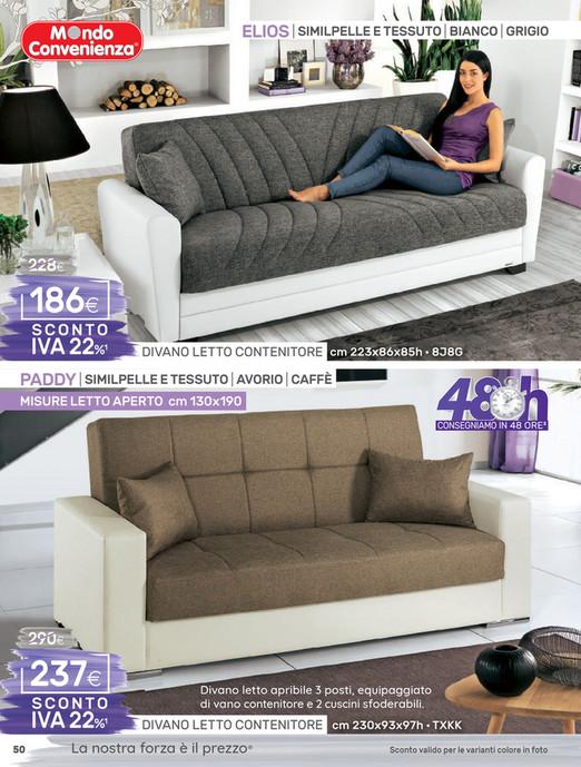 Divani mondo convenienza 3 posti divani moderni posti idee per il design della casa divano - Divano letto elios ...