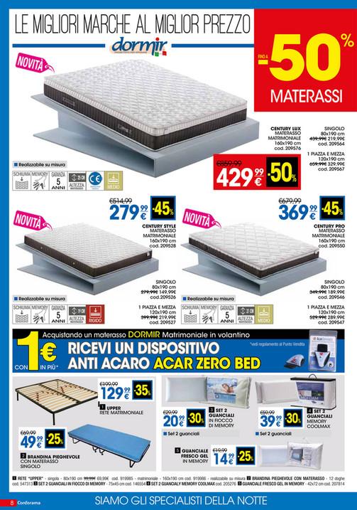 outlet store 9dd8c d1870 Materasso Matrimoniale Conforama – Casa