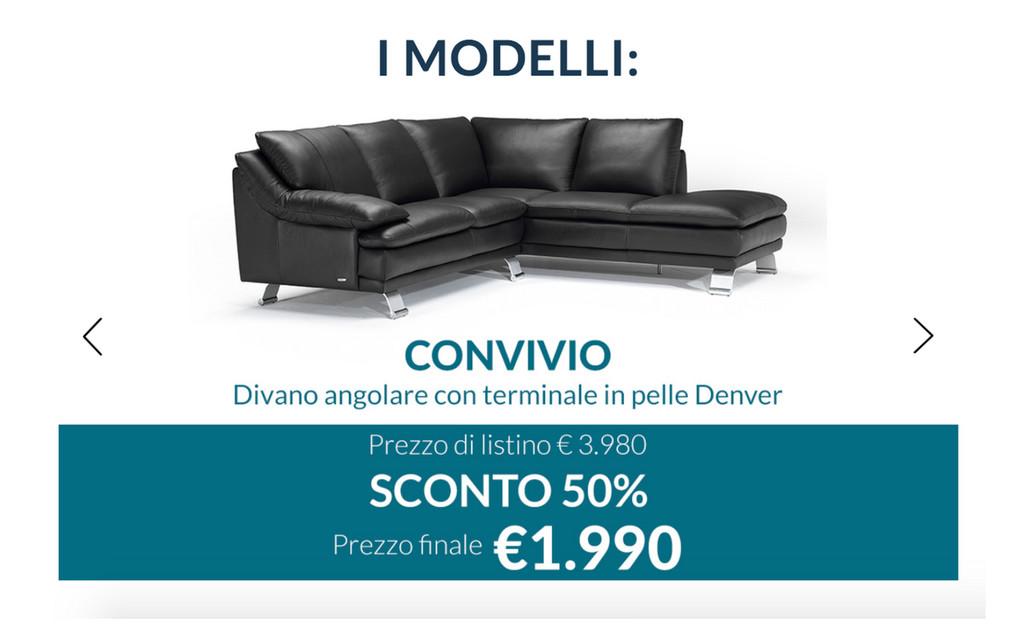 VolantinoFacile - Promozione divani e divani dal 1 al 19 agosto ...