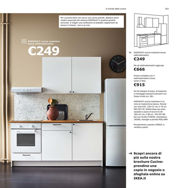 Ikea Cucina Componibile Knoxhult
