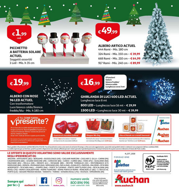 Volantinofacile Volantino Auchan A Natale La Magia è Di Casa Dal