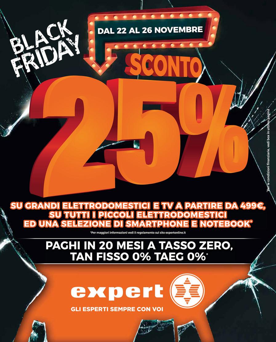 Volantino Expert BLACK FRIDAY -25% | VolantinoFacile.it