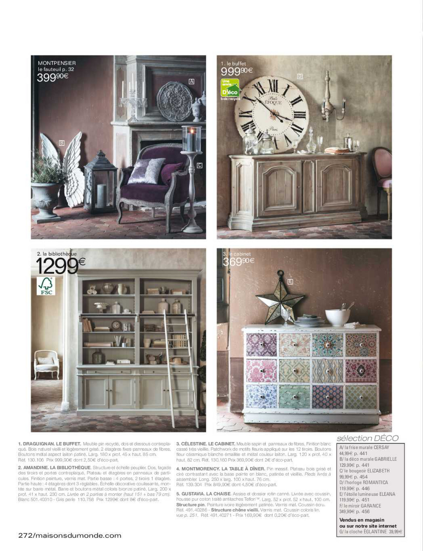 volantinofacile catalogo maisons du monde 2015 pagina. Black Bedroom Furniture Sets. Home Design Ideas