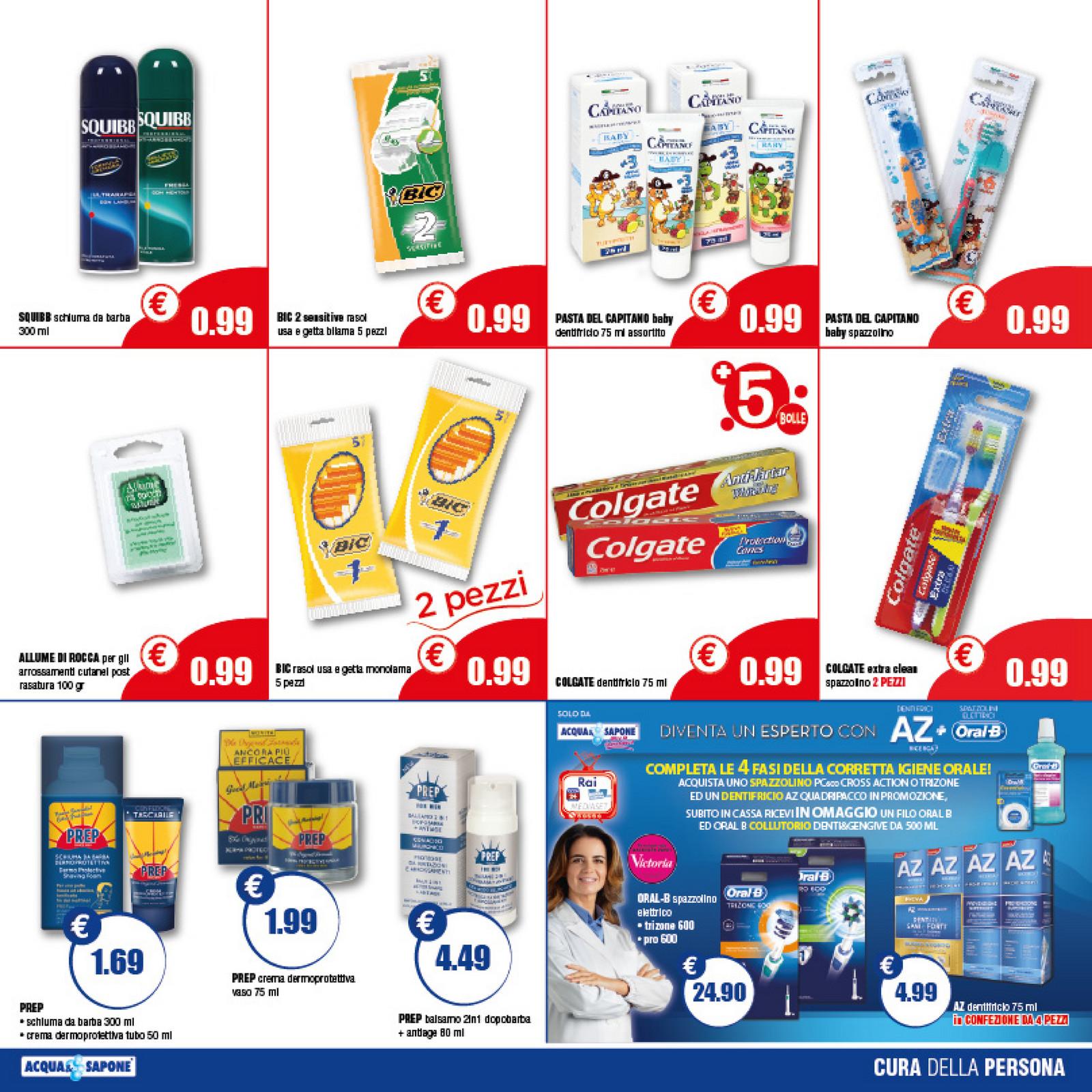 Volantinofacile volantino acqua e sapone lazio dal 21 for Volantino acqua e sapone novembre 2017