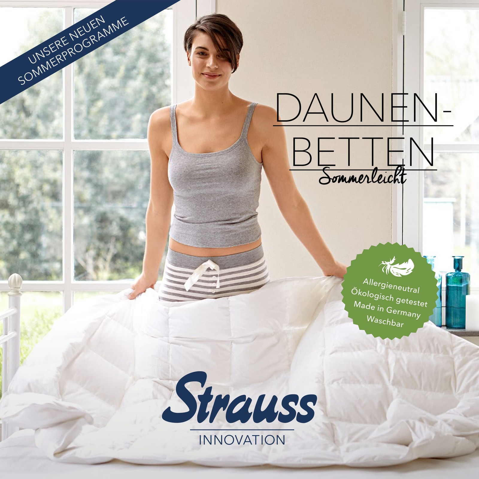 strauss innovation prospekt oberbetten seite 1 created with. Black Bedroom Furniture Sets. Home Design Ideas