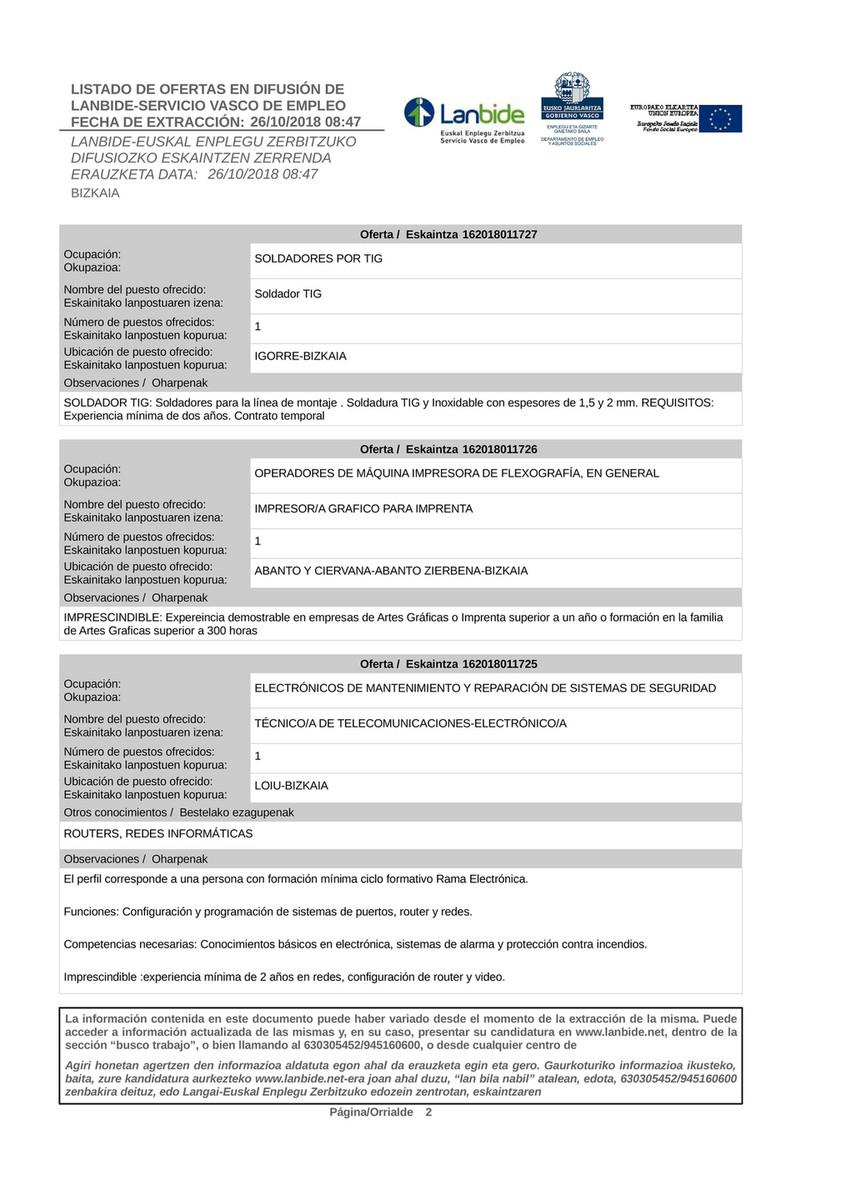 Forlan Ofertas Empleo Lanbide 2018 10 26 Página 2