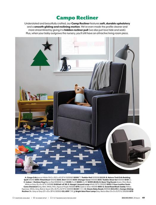 Fox Animal Knit Rattle Land Of Nod, Land Of Nod Furniture