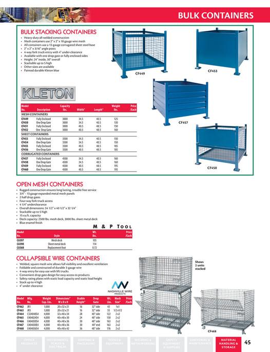 Calgary Warehouse Equipment - CWE Small Parts Storage & Bulk